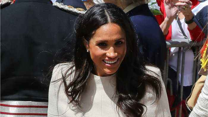 News video: Meghan Markle Challenges Royal Style Protocol ... Again