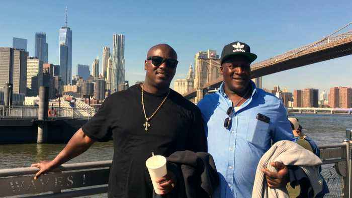 Father finally gets to spend Father's Day with his son after 38 years apart