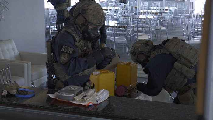 Elite Coast Guard team trains for potential chemical weapons attacks