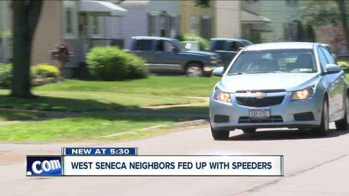 West Seneca has a trick for fast drivers in neighborhoods