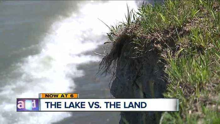 News video: Homeowners, city officials worried as erosion eats away at Lake Erie shoreline
