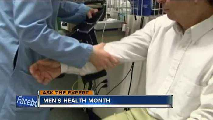 News video: Ask the Expert: Men's Health Month