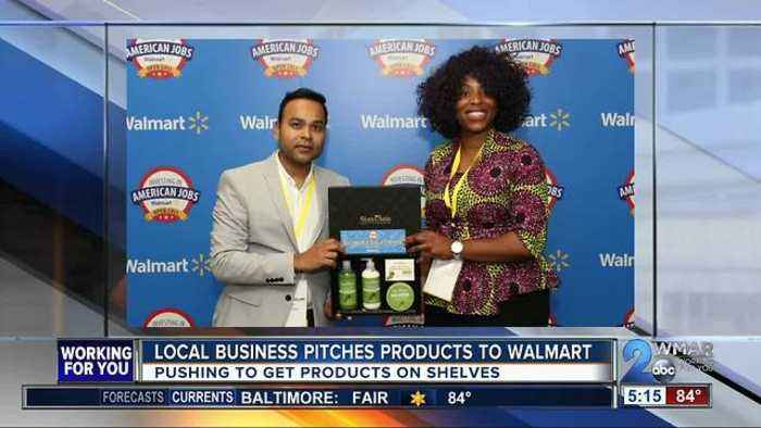 News video: Local business pitches products to Walmart