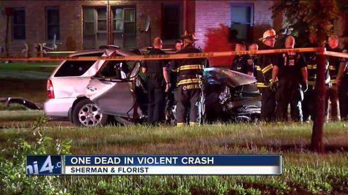 News video: 1 dead, 1 injured after car crashes into tree on Milwaukee's north side