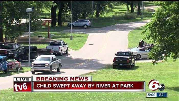 Search continues for boy in Flat Rock River