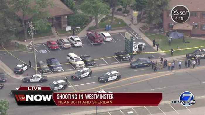 News video: 4 shot, including 2 children, at Westminster office complex near 80th and Sheridan