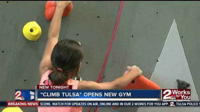 News video: Climb Tulsa opens new gym