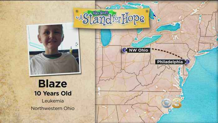 News video: Alex Scott: A Stand for Hope Helping Fight Childhood Cancer
