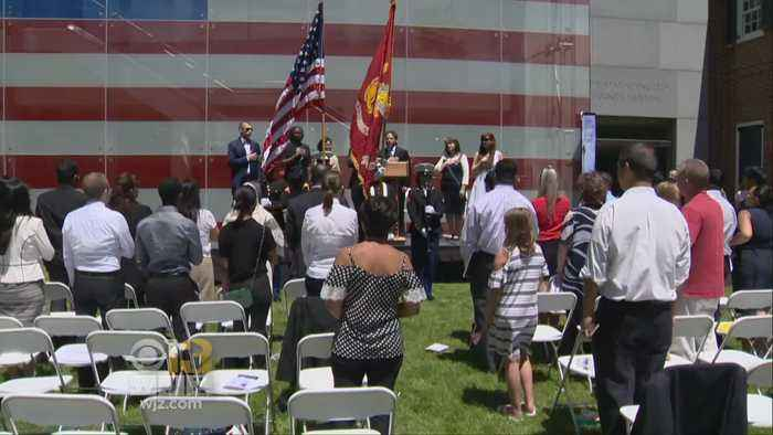 News video: 27 People From 18 Countries Become US Citizens On Flag Day