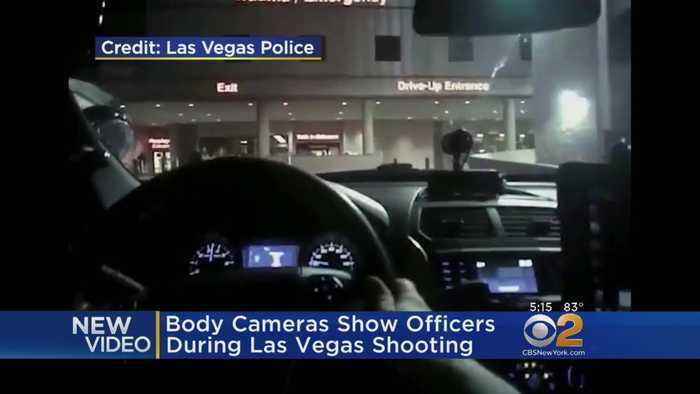 News video: Body Cameras Show Officers During Las Vegas Shooting
