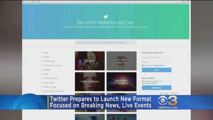 Twitter To Roll Out New 'Happening Now' Format