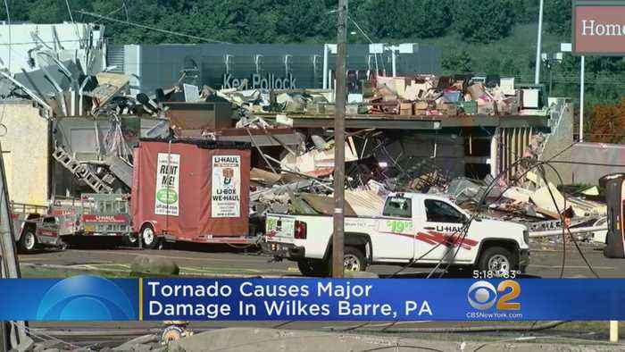 News video: Tornado Causes Major Damage In Pennsylvania