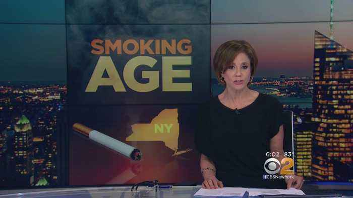 Push To Raise Smoking Age In New York State