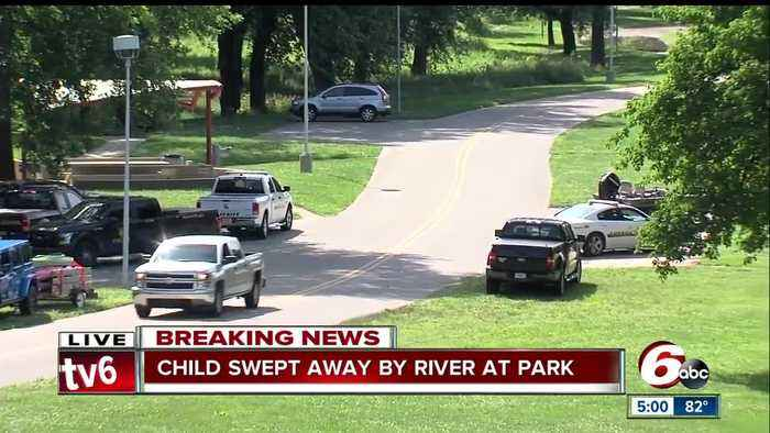 News video: Search continues for boy in Flat Rock River