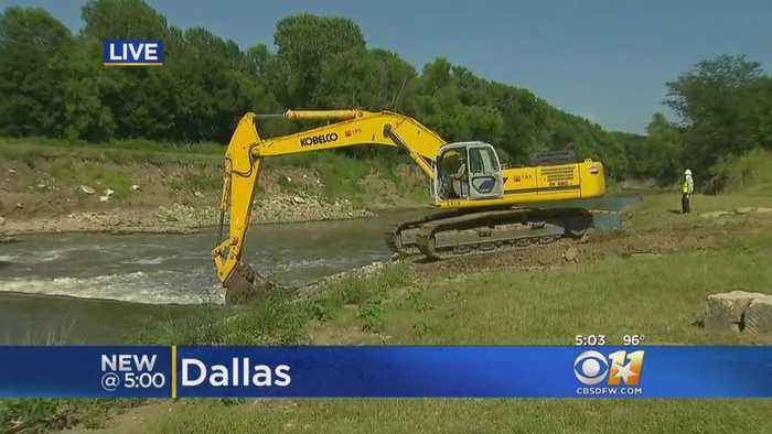 News video: Wave Goodbye To The Trinity River's ' Standing Wave'