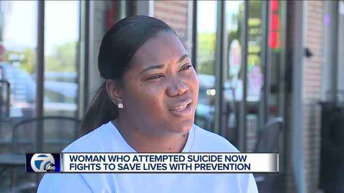 Woman working to help break suicide stigma in African American community