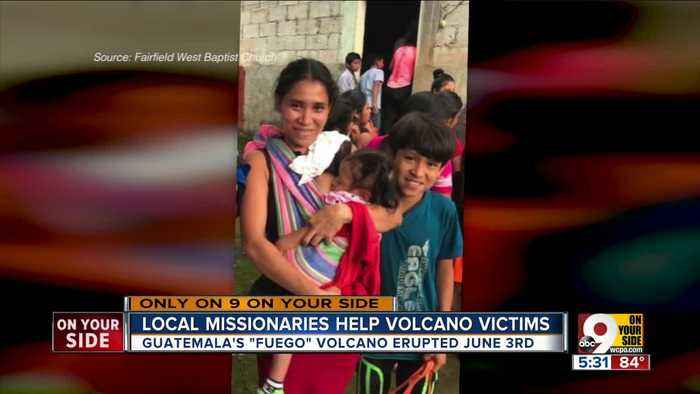 News video: Local group church helps Guatemalan villagers during volcano
