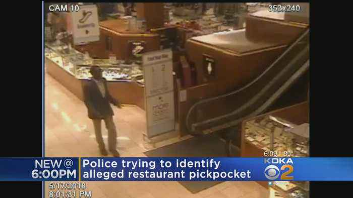 News video: Police: Suspected Pickpocket Spotted Going On Mall At Robinson Shopping Spree