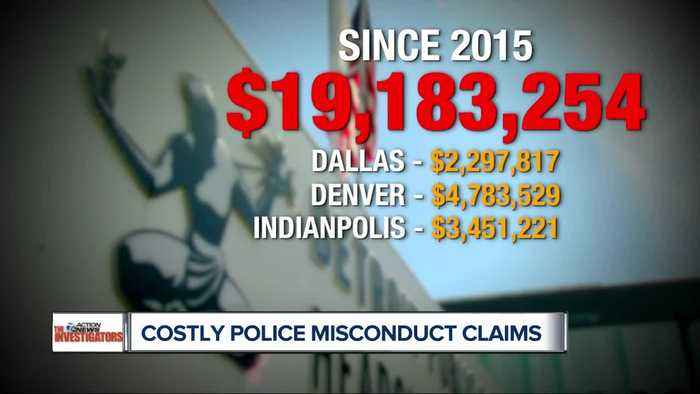News video: Police misconduct claims cost Detroit taxpayers $19.1 million since 2015