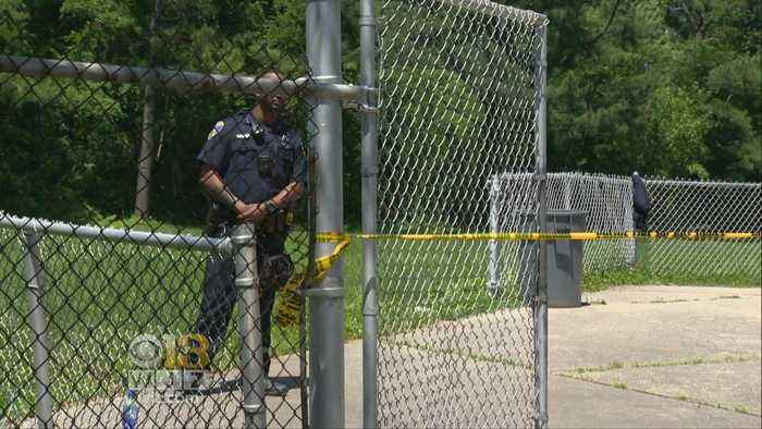 News video: Man Charged With Murder After Body Found On Baltimore School Bleachers