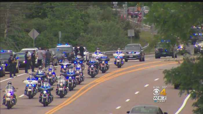News video: Boy Battling Rare Condition Gets Police Escort During Final Ride Home