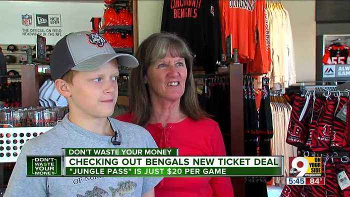 News video: New Bengals Jungle Pass offers $20 tickets