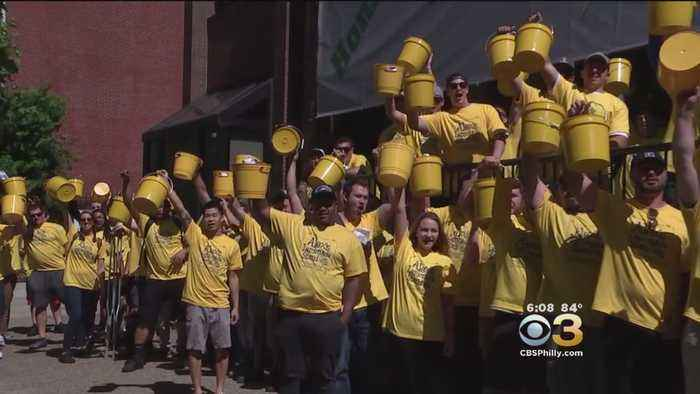 IBEW Local 98 Hit Philly Streets To Raise Money For Alex's Lemonade Stand Foundation