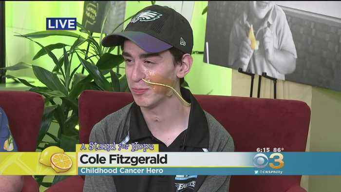 11-Year Cancer Survivor Cole Fitzgerald Proving Dreams Do Come True