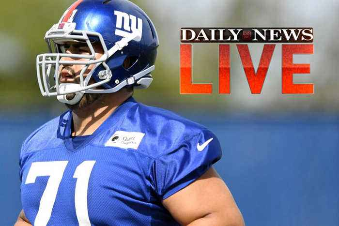News video: Giants fight at minicamp