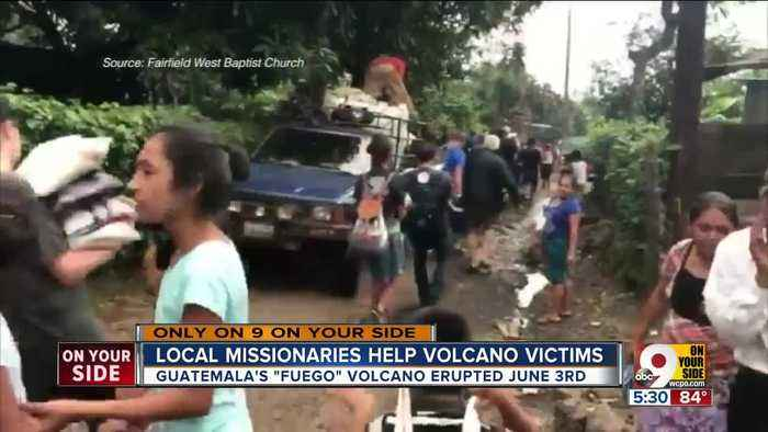 Local group church helps Guatemalan villagers during volcano