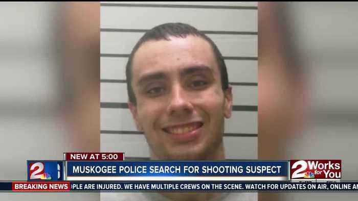 Muskogee police search for shooting suspect