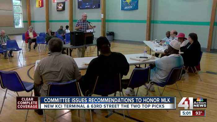 News video: Kansas City's Martin Luther King JR committee makes formal terminal recommendation