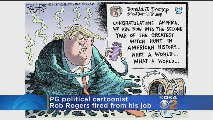 News video: Post-Gazette Editorial Cartoonist Rob Rogers: 'I Was Fired'