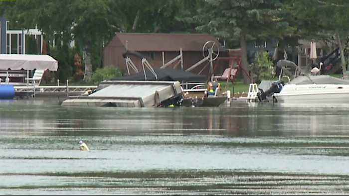 News video: 81-Year-Old Man Killed After Weed Cutting Machine Overturns on Wisconsin Lake