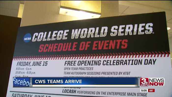 News video: The Longhorns, Beavers and Gators are officially in town for the College World Series