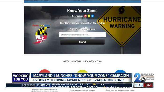 News video: Hurricane prep campaign launched in MD