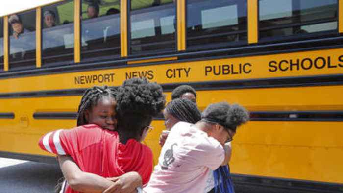 News video: Huntington Middle School Last Day of School