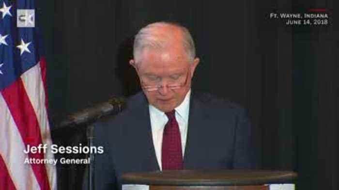 News video: Jeff Sessions Defends Separating Migrant Families Citing Bible