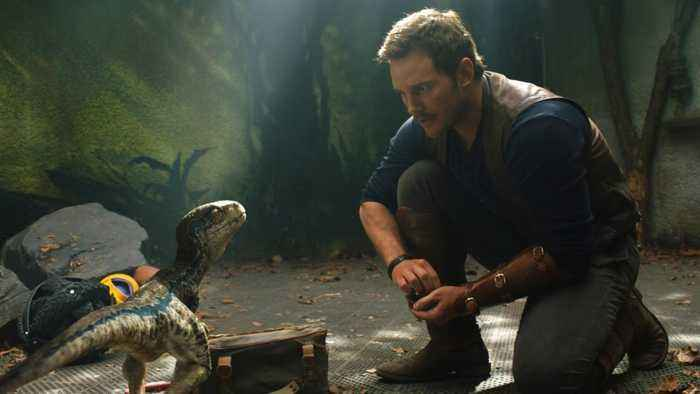 News video: Tom Holland Spoiled 'Jurassic World: Fallen Kingdom' To Chris Pratt
