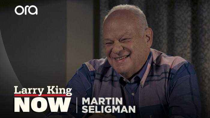 Martin Seligman: Cure for depression coming