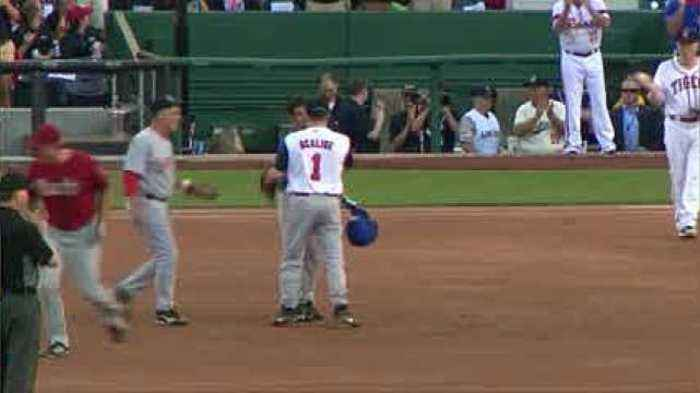 News video: Scalise makes big play at the Congressional Baseball game