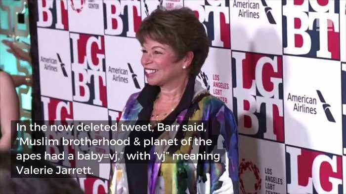 News video: Roseanne Barr Clarifies That Tweet Was About 'Anti-Semitism'