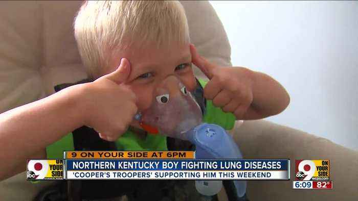 Cooper's Troopers support Kentucky boy fighting lung disease