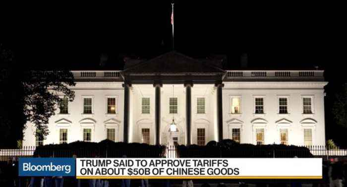 News video: Trump Said to Approve Tariffs on About $50B of Chinese Goods