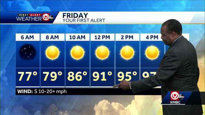 News video: First Alert: Heat advisory in effect Friday through Sunday