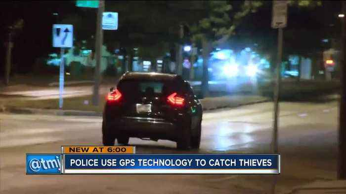 News video: Car thief caught using GPS tracker