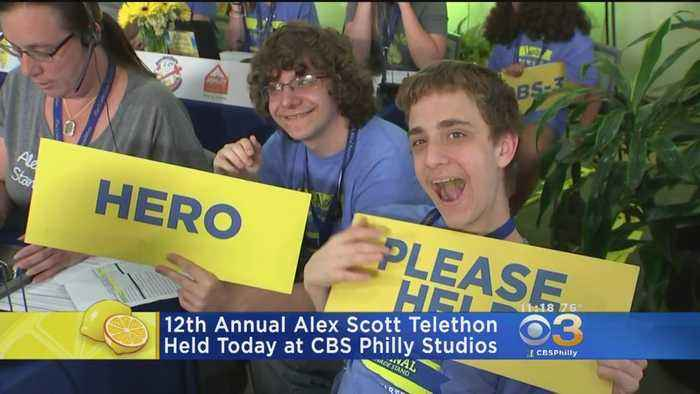 12th Annual Alex Scott Telethon Sets A New Record With More Than $7 Million In Pledges For Pediatric Cancer Research