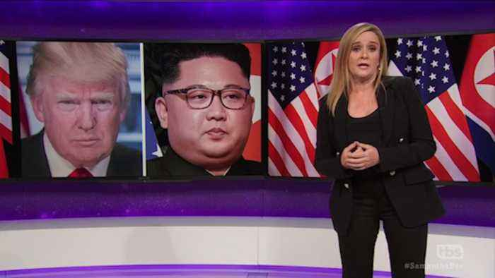 Watch late-night hosts react to the Trump-Kim summit