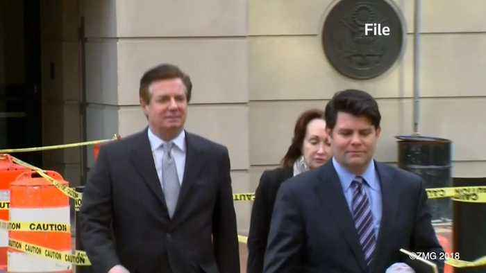 News video: Judge Sends Former Trump Campaign Chair Paul Manafort to Jail, Pending Trial