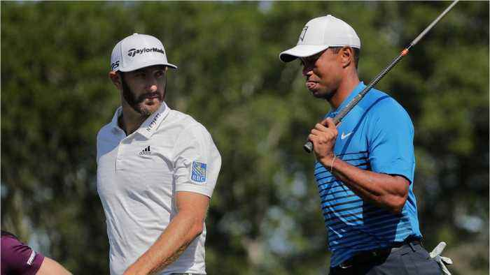 Tiger Woods Set to Miss Cut, Johnson Leads At Shinnecock